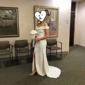 Dresses & Skirts - wedding white dress
